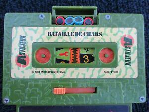 vintage 80 astujeux mb bataille de chars 1988 cassette k7