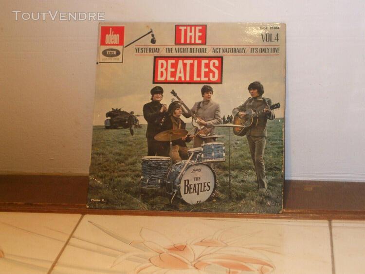 Beatles 45 t ep odeon emi vol.4 moe 21004 biem longue durée