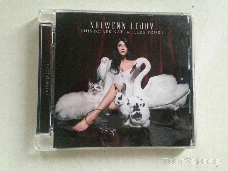 Cd album nolwenn leroy - histoires naturelles tour - olympia