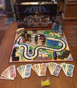 Hotel jeu de société hôtel culte vintage mb de 1986