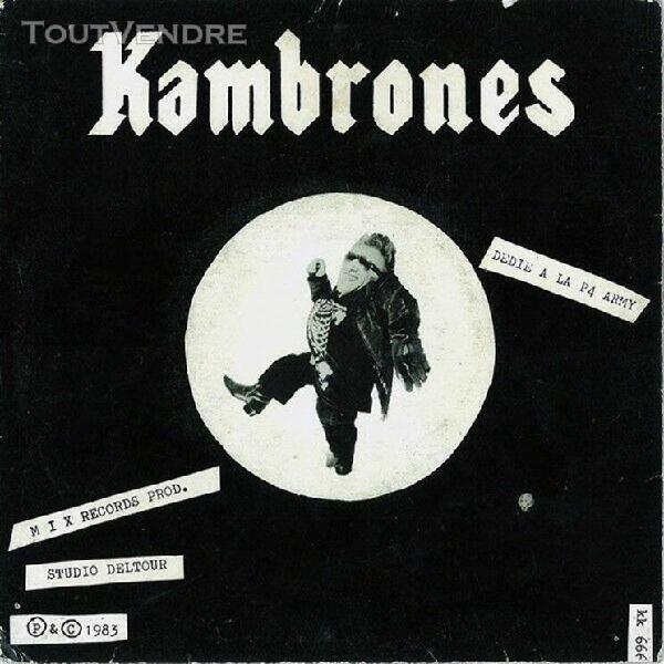 Kambrones ep -dédié à la p4 army- oi punk trotskids