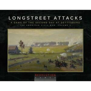 Longstreet attacks - édition ziplock, revolution games