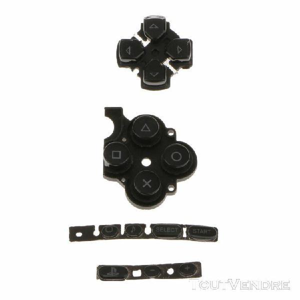 Magideal noire boutons remplacements pour sony psp 3000 cons