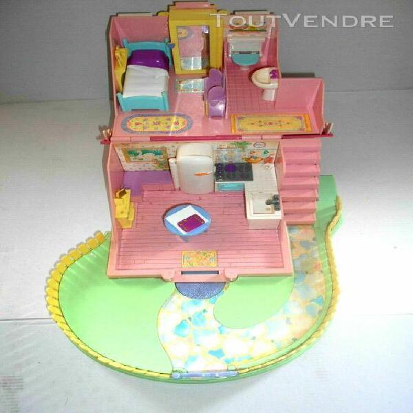 maison lucy locket polly pocket dream cottage de bluebird