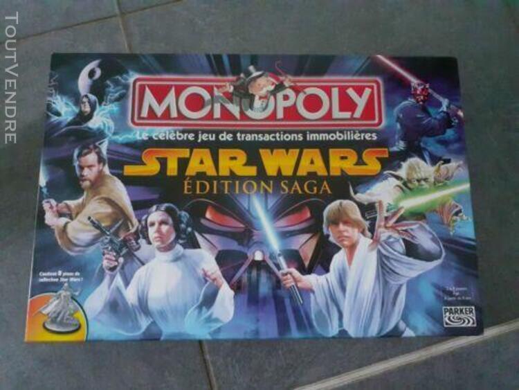 Monopoly star wars edition saga français