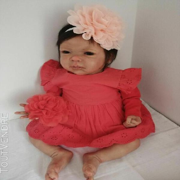 Reborn - poupée reborn issue du kit kristan de phil donnely