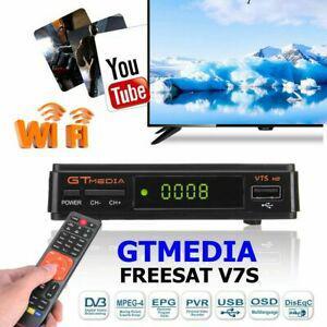 Gtmedia v7s hd dvb-s2 tv récepteur diffusion vidéo