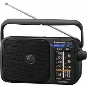 Panasonic rf-2400deg-k radio compacte fm/am -
