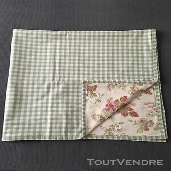Plaid ou courtepointe laura ashley angelica cream quilt