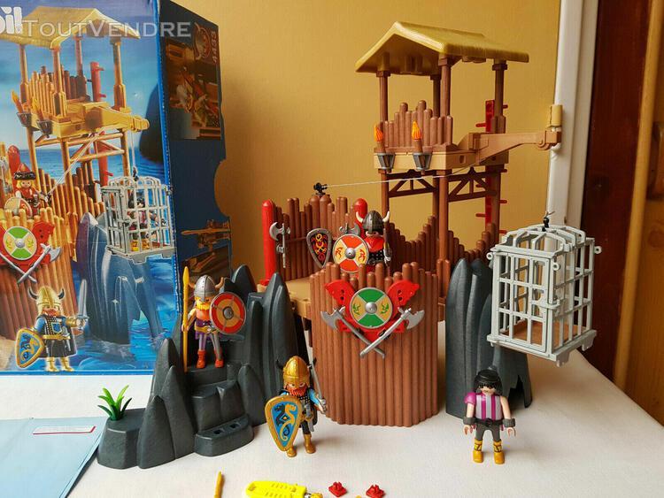 Playmobil forteresse vikings 4433 en boite