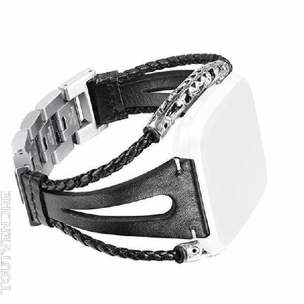 Bandes en cuir fait main bracelet de rechange bracelet sangl