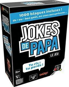 Gigamic jokes de papa, jeu d'ambiance