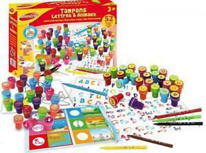Joustra- lettres et animaux loisirs créatifs pour enfants