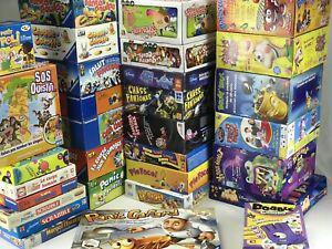 Lot de 4 jeux de société pour les 4-5 ans, complets