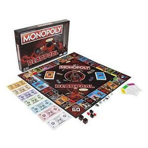 Monopoly deadpool marvel heroes - jeu de societe - couleur