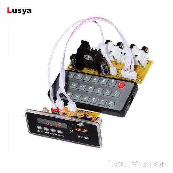 4.2 bluetooth audio récepteur mp3 décodeur carte