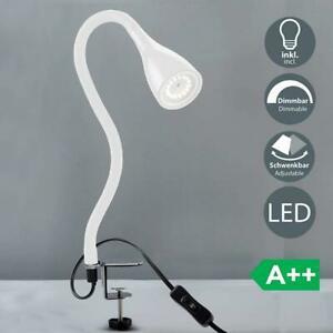 B.k. licht lampe de chevet à pince led avec 3 niveaux