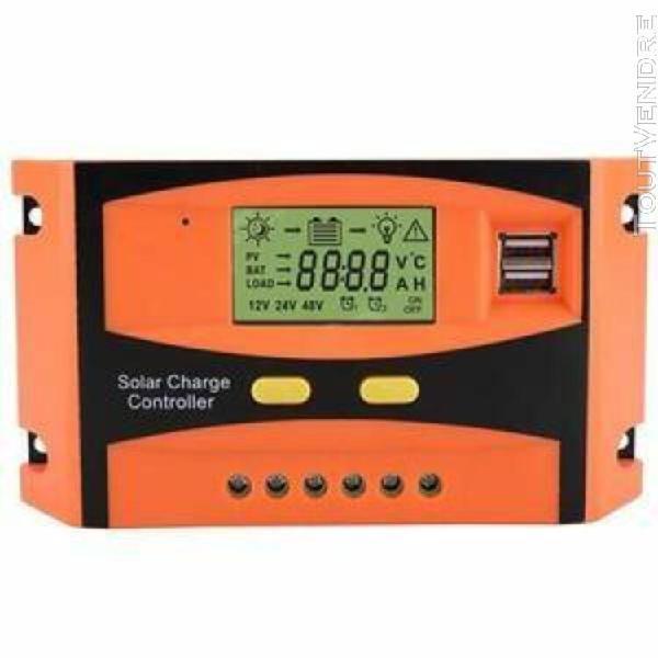 contrleur de panneau solaire, 12v - 24v 30a d'affichage à