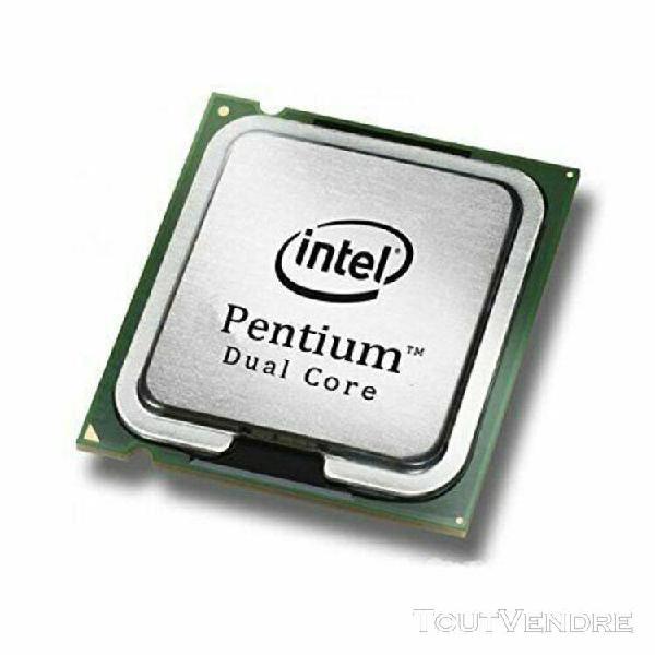 Processeur intel dual core e6300 socket 775 2.8ghz slgu9 mal