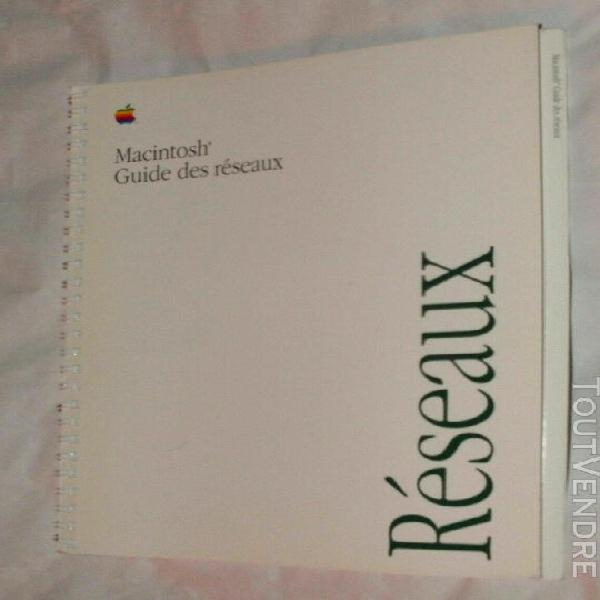 Apple macintosh guide des reseaux 1991 - 112 pages - f030-39