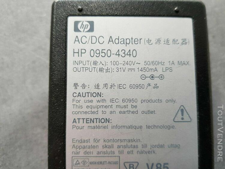 bloc alimentation imprimante hp 0950-4340