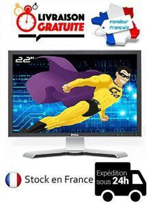 Ecran moniteur pc ordinateur lcd 22 pouces 16/10 dell