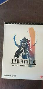 guide officiel final fantasy xii complet neuf