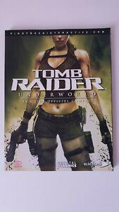 guide officiel tomb raider underworld comme neuf