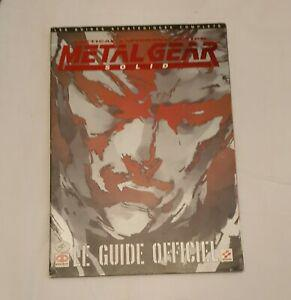 guide stratégique officiel metal gear solid piggyback fr -