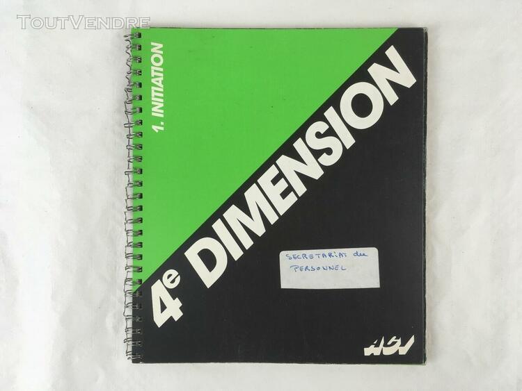 livres / manuels pour apple macintosh - 4d 4e dimension aci