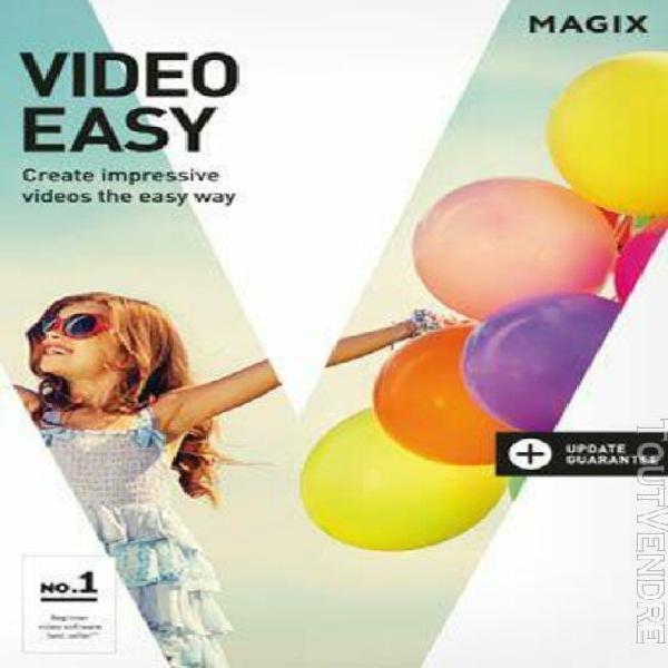 magix video easy - logiciel en téléchargement
