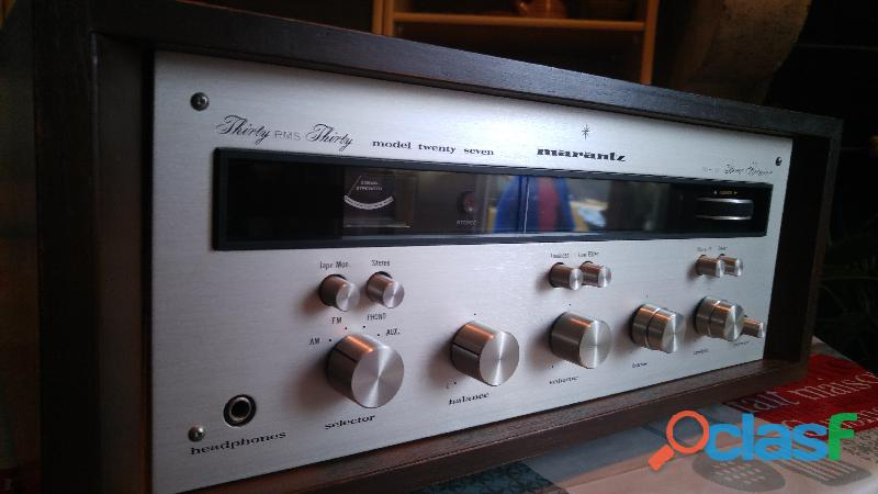 Marantz model twenty seven (27) am/fm stereo receiver