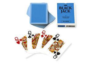 Black jack jeu de cartes qualité professionnelle, jeu de