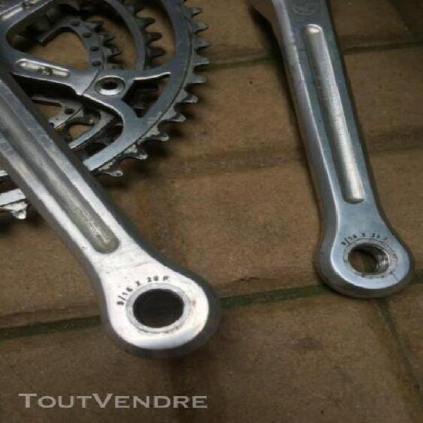 Campagnolo 170 triple 36 46 52 nuovo record crank set bicyc