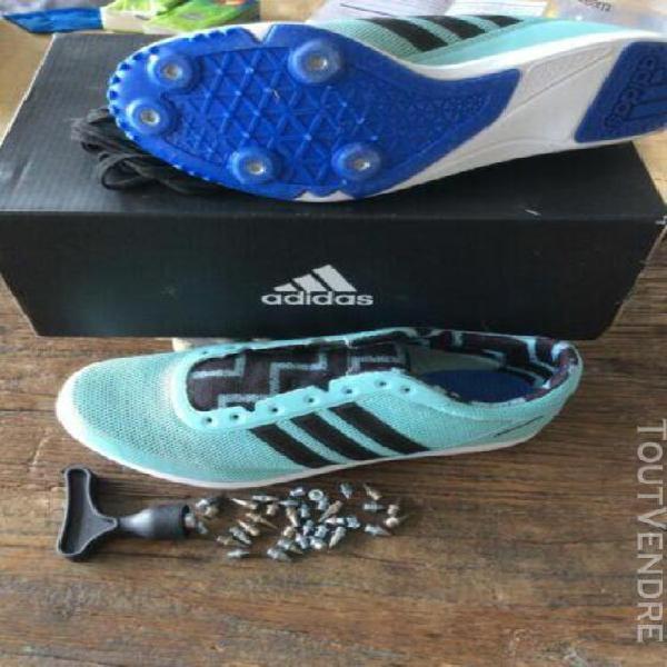 Chaussures adidas athlétisme distancestar femme taille 38