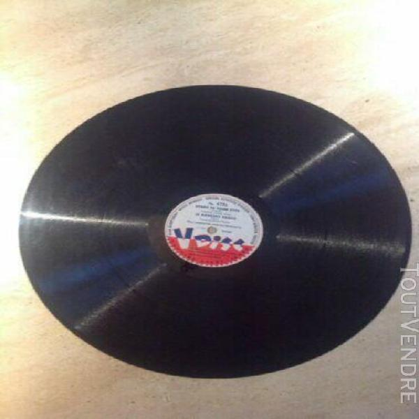 Disque 78t 30cm 1945 v disc 470 jimmy dorsey / guy lombardo