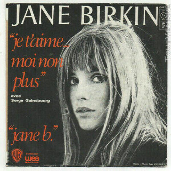 Jane birkin / serge gainsbourg. je t'aime moi non plus. fren