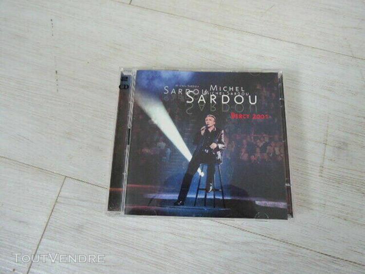 Michel sardou: bercy 2001 - double cd live - bon état