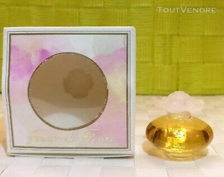 Miniature fleur de fleurs de nina ricci 6 ml parfum de toile