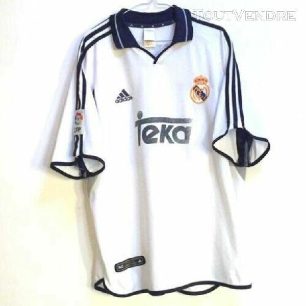 Shirt camiseta maglia camisa trikot real madrid 2000-01