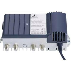 Amplificateur tv câble 4x triax ghv 530 30 db