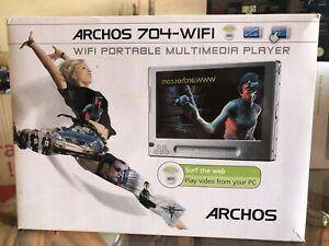 Archos 704 80 go wifi multimedia player