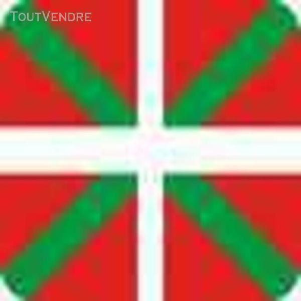 Tapis de souris accessoire informatique drapeau basque