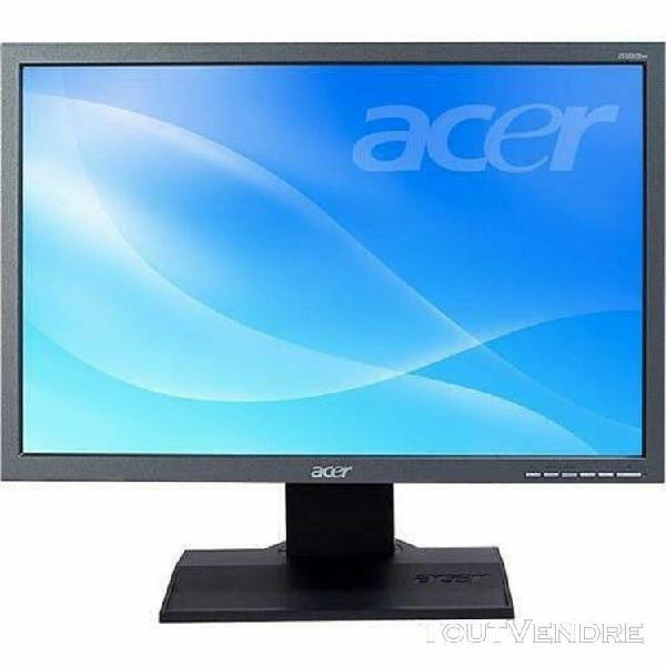 Ecran moniteur pc ordinateur 16/9 tft lcd 19 pouces acer b19