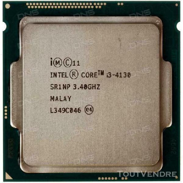 Intel core i3-4130- dual-core 3.4ghz/3m socket lga1150 proce