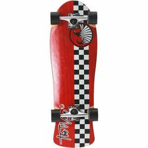 Wave longboard 30' checker complete k0000 - rouge