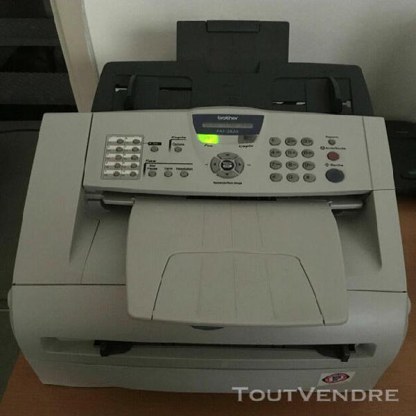 Brother fax-2820 - télécopieur et copieur laser n&b -