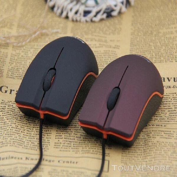 Souris optique filaire usb portable lenovo m20 mini business