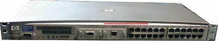 Switch hp procurve 2524 24 ports 100 mbits + 1port gigabit +
