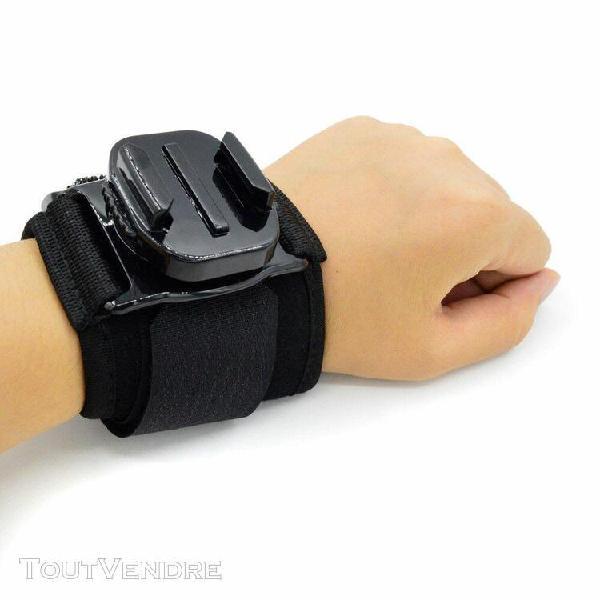 360 ° rotating band gant fixation de la dragonne pour
